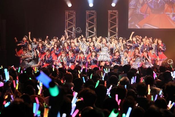 2回目のライブでの「SKE48」