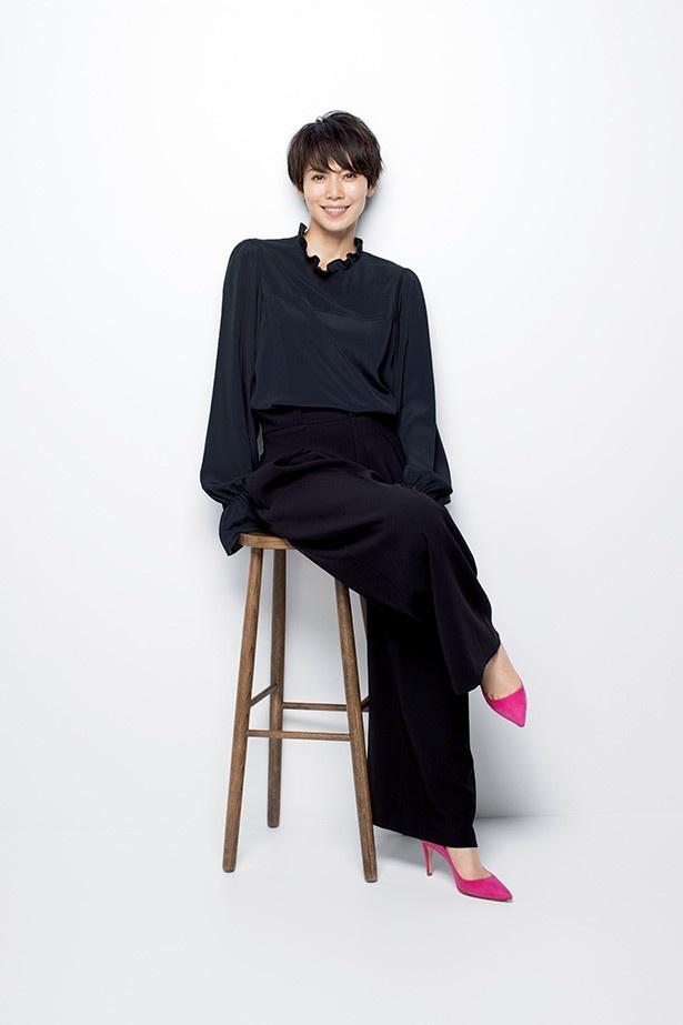 洋服が素敵な中谷美紀さん
