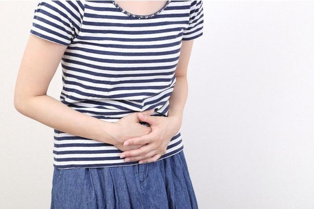 アミグダリン摂取によって、激しい腹痛を起こすことも。