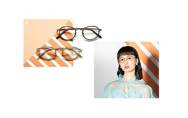 柴田紗希デザインは、フレームにヴィンテージっぽさや品を出すために模様を入っていて色ごとに素材感も異なる