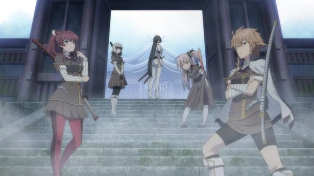 若手人気声優6人がオリジナルTVアニメ「刀使ノ巫女」を語る!【第1弾】実際に真剣の試し切りも!?