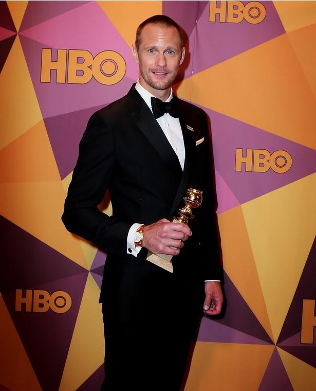 アレキサンダー・スカルスガルドは助演男優賞に輝いた