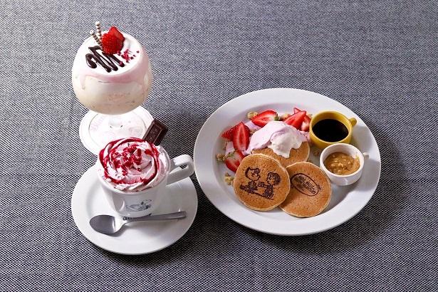 六本木スヌーピーミュージアム内のカフェ「Cafe Blanket」からバレンタイン限定メニューが登場する