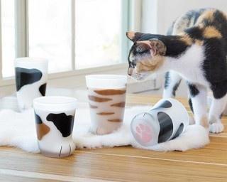 猫好き注目!猫の手みたいなグラスがヴィレヴァンオンラインに登場