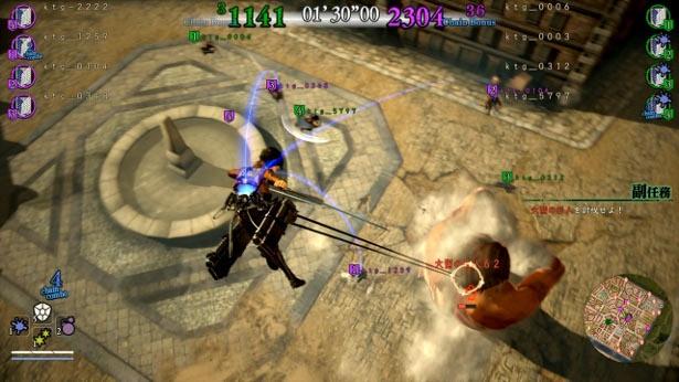 タクティカルハンティングアクションゲーム「進撃の巨人2」の最新情報が公開!