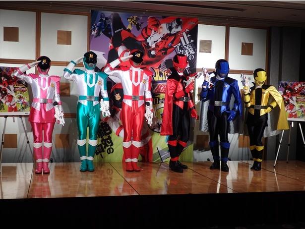 ルパンレンジャーとパトレンジャーのバトルスーツはこちら