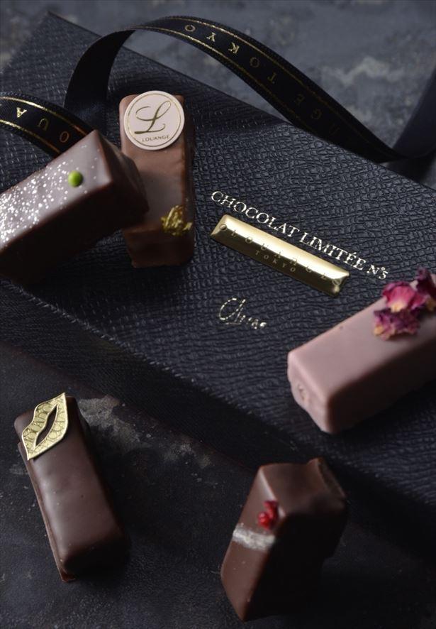 【写真を見る】贈り物にもぴったり!素材にこだわった5粒のショコラ
