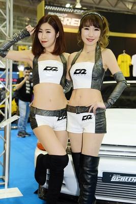 D2 JAPANブースのコンパニオン