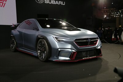 コンセプトカー in 東京オートサロン2018 スバル「SUBARU VIZIV PERFORMANCE STI CONCEPT」 5/38