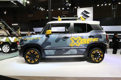 コンセプトカー in 東京オートサロン2018 スズキ「XBEE WINTER ADVENTURE」 7/38