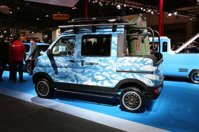 コンセプトカー in 東京オートサロン2018  ダイハツ「HIJET CARGO Deck Van ACTIVE Ver.」 14/38