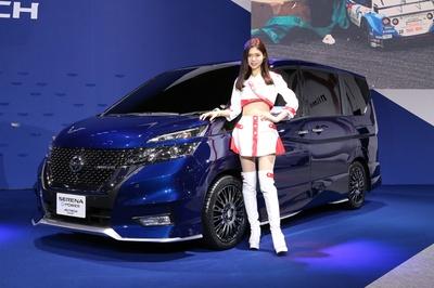 コンセプトカー in 東京オートサロン2018 日産「SERENA e-POWER AUTECH Concept」 21/38