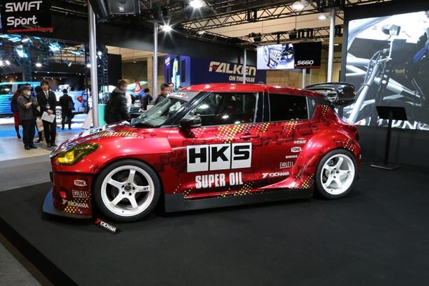 コンセプトカー in 東京オートサロン2018 エッチ・ケー・エス「HKS TRB-03」 24/38