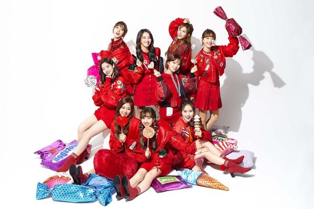 2月7日にシングル「Candy Pop」をリリースするガールズグループ・TWICE