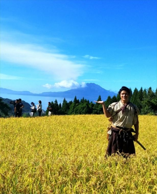 鈴木が公式ブログで「大人西郷どん」集合写真を公開!