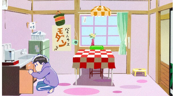 「おそ松さん 第2期」第15話の先行カットが到着!開かないびんのふた、6人が協力した結果は…!?