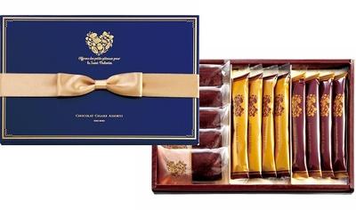 「ショコラ シガール アソルティ」(3240円)は、限定商品の詰め合わせで皆で分け合えるのが○