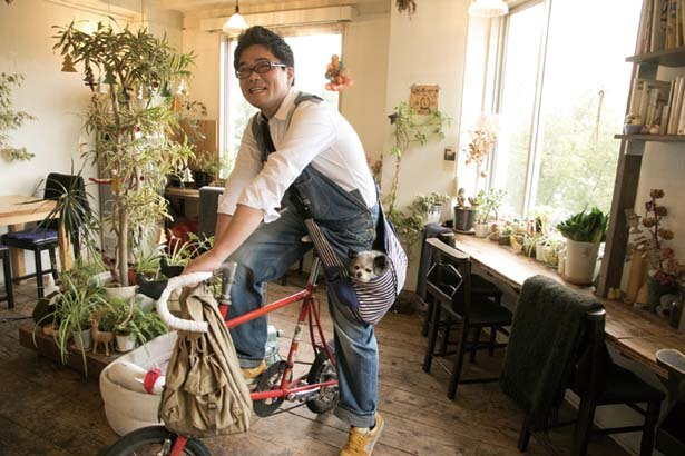 【写真を見る】専用バッグに入って通勤/cocoo café