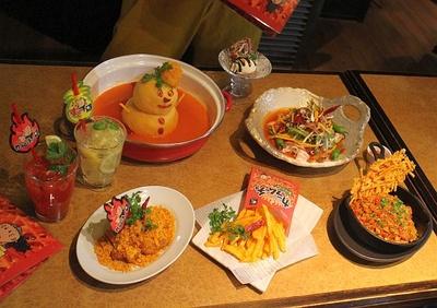 【写真を見る】フォトジェニックな鍋も。「食べて元気になるものを」と開発された