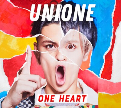 「ONE HEART」初回生産限定盤Aジャケット写真