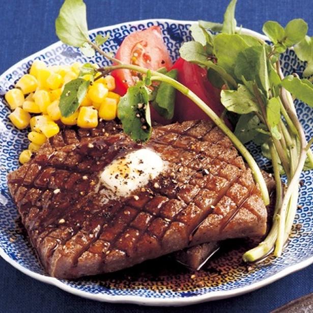 【関連レシピ】こんにゃく照り焼きステーキ