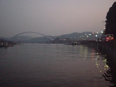 静かな浦村の海(三重県鳥羽市)