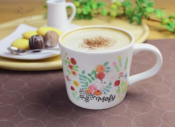【写真を見る】「うさぎのモフィローズマグカップ」(税抜980円)※容量最大350ml