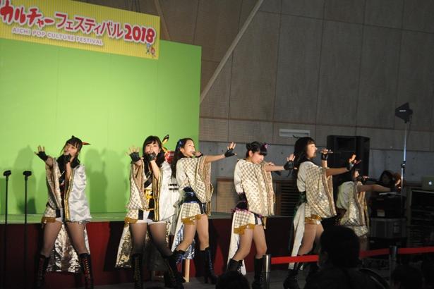会場では「おとめボタン」「名古屋CLEAR'S」といった名古屋発のアイドルらによるステージも行われた