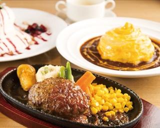 ジューシーなハンバーグとフワトロ卵のオムライスが食べられる北海道生まれのレストランがオープン