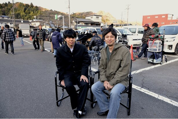 親子共演を果たした河相沙羅と我聞(写真左から)