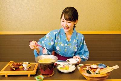 内容は季節により変わり、この日は寒ブリと酒粕、和歌山産布引大根のハーモニーが楽しめる小鍋が登場