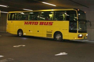 運行するはとバス