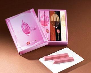 「キットカット ショコラトリー サブリム バレンタインアソート」(5本入り、1,944円)