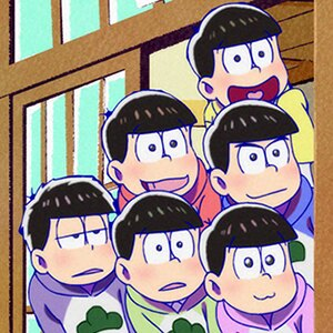 「おそ松さん 第2期」第16話の先行カットが到着。松野家の隣にかわい子ちゃんが越してきた!