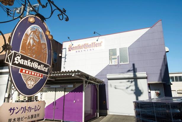 季節に合わせてさまざまな味わいの地ビールが登場する「サンクトガーレン」