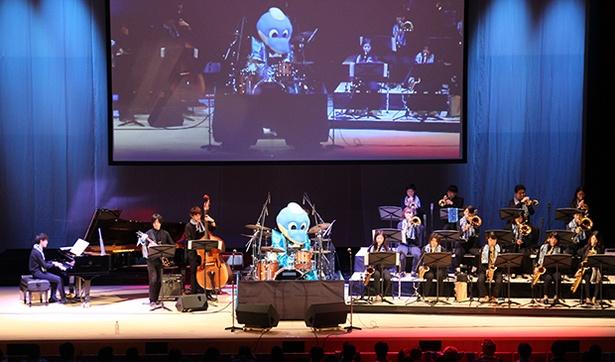 まさかの「ふろん太」のドラムソロで始まった昭和音楽大学の演奏