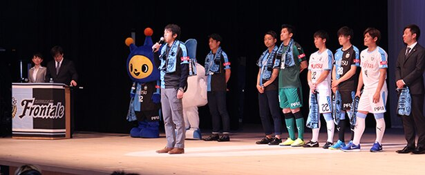 ニコニコ動画で出演していた中村憲剛選手がサプライズで登場
