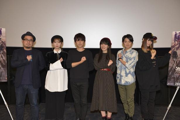 「劇場版『進撃の巨人』Season2〜覚醒の咆哮〜」2週目の舞台挨拶レポートが到着!