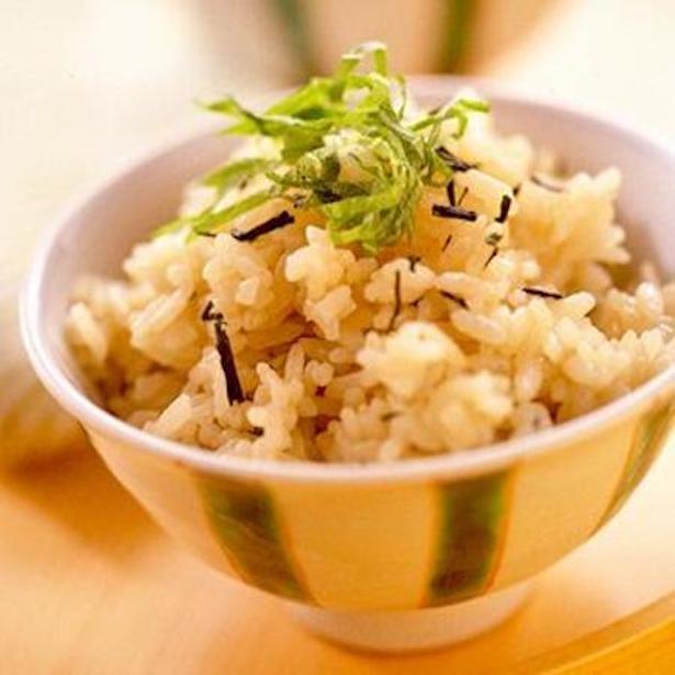 【関連レシピ】緑茶飯