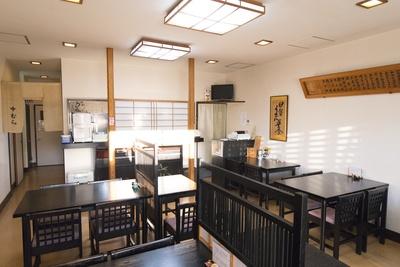 1993(平成5)年に建て替えた店内は清潔に保たれている