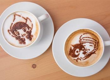 【写真を見る】世界名作劇場シリーズの作品をテーマにしたカフェ