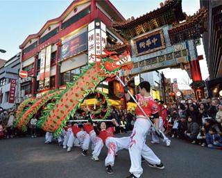 獅子舞や龍舞も!春節は中華街周辺で華やかに楽しもう