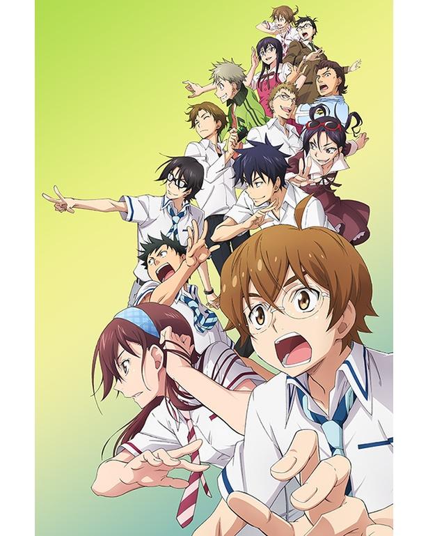 競技クイズアニメ『ナナマル サンバツ』とのコラボで選挙を知ろう!