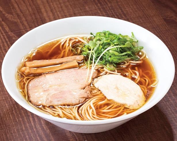 「麺's Natural」(静岡県浜松市)の「鶏SOBA」(780円)