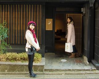 住宅街の中にひっそりと立つ京町家