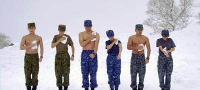 海上自衛隊の幹部候補生は毎日行うという乾布摩擦