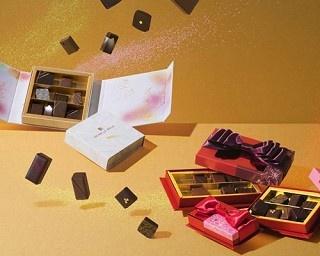"""アンリ・ルルーがバレンタインコレクションを発売!""""開香""""(かいか)をテーマにした4種の新作ショコラが登場"""