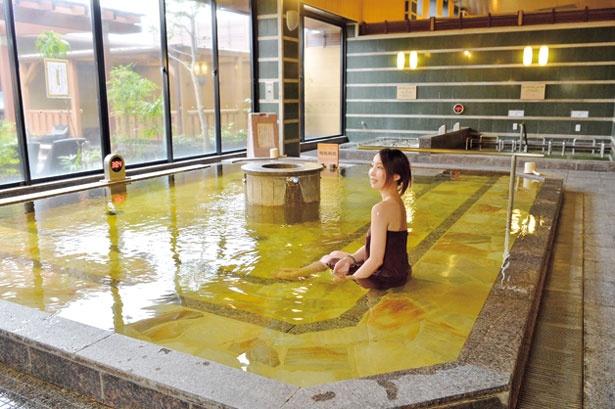 内湯の天然温泉×人工炭酸泉は関西初/堺浜楽天温泉 祥福