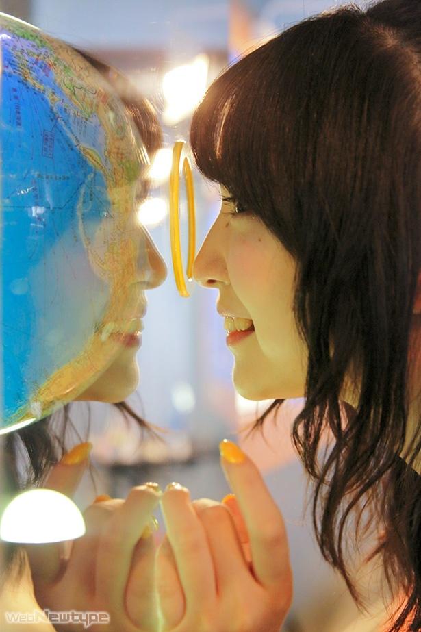 上田麗奈フォトコラム・未知の世界への入口で見つけた色