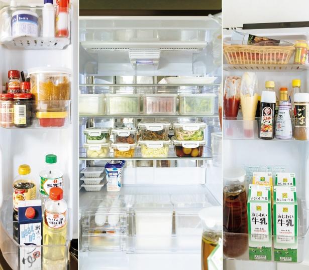 7割収納を心がけている東さんちの冷蔵庫